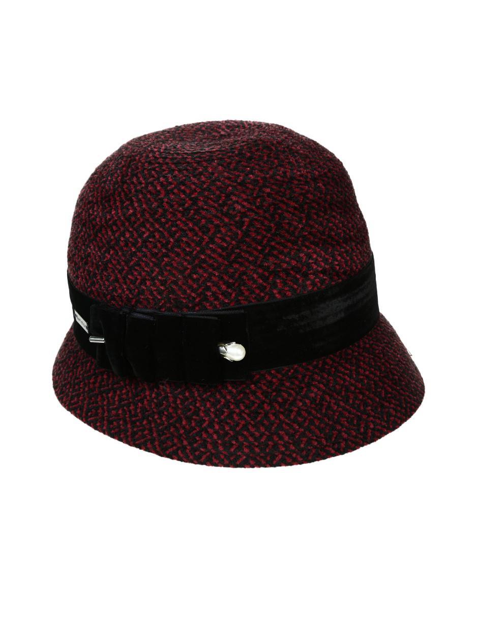 Sombrero Betmar de lana vino bbaaa7d91bc